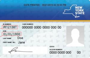 An imaged of a PEBT benefits card